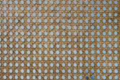 Wicker texture background. detail of weave seamless texture.  Royalty Free Stock Photos