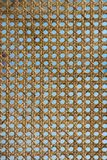 Wicker texture background. detail of weave seamless texture.  Royalty Free Stock Image