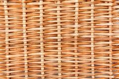 Wicker texture. Closeup background cane stock photo