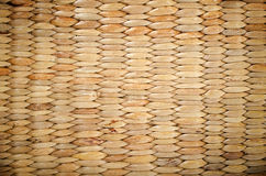 Wicker texture closeup photo Royalty Free Stock Images