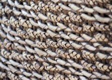Wicker texture. Detailed Wicker texture handmade with different patterns Royalty Free Stock Photo