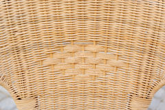 Wicker texture old woven wood pattern - lomo Royalty Free Stock Photo