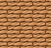 Wicker texture. Stock Images