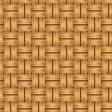 Wicker texture. Vector seamless background. Royalty Free Stock Photography