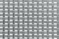 Wicker Texture, Weathered gray Background Pattern Stock Photography