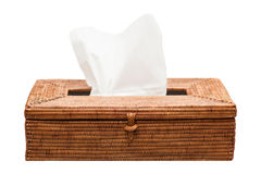 Wicker Tissue Box Stock Images