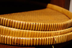 Wicker. By traditional homemade in agriculture Stock Photography