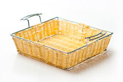 Wicker tray Stock Images