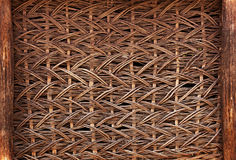 Free Wicker Wall Of Old Rustic Warehouse Royalty Free Stock Photo - 31113615