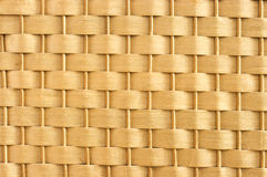 Wicker wall texture Stock Photography