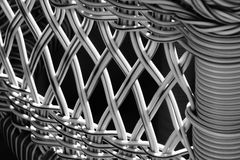 Wicker weave Stock Image