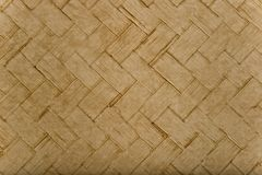 Wicker or Weave Pattern Material Royalty Free Stock Images