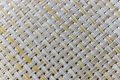 Wicker weaving and wicker pattern. Pliable twigs, typically of willow, plaited or woven to make items such as furniture and baskets stock photography