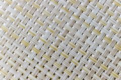 Wicker weaving and wicker pattern. Pliable twigs, typically of willow, plaited or woven to make items such as furniture and baskets royalty free stock images