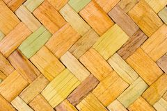 Wicker wood background Royalty Free Stock Image