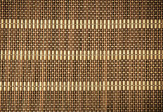 Wicker wood pattern Royalty Free Stock Photos