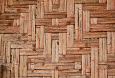 Wicker wood pattern Stock Image