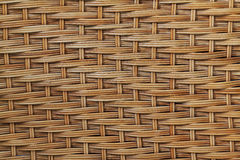 Wicker wood pattern background Stock Photo