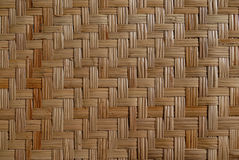 Wicker wood pattern Royalty Free Stock Photography