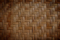 Wicker wood pattern Royalty Free Stock Photo