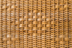 Wicker wood texture Stock Images