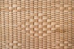 Wicker wood texture Stock Photos