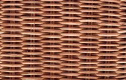 Wicker wood texture. Background brown Stock Photo