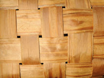 Wicker wooden basket Royalty Free Stock Photos
