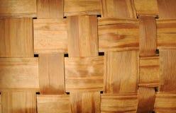 Wicker wooden basket Royalty Free Stock Image