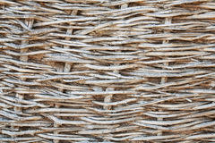 Wicker woven Stock Photography