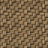 Wicker Woven Basket Texture. A seamless 3D wicker basket or furniture texture that tiles as a pattern in any direction Royalty Free Stock Photo