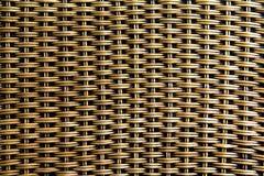 Wicker woven beautiful pattern view. Stock Photo