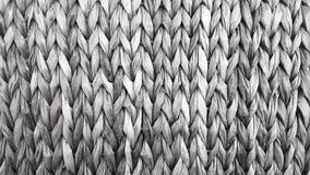 Wicker woven headboard Stock Photo