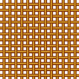 Wicker woven pattern Royalty Free Stock Photography