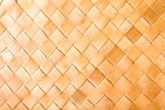 Wicker woven pattern background Royalty Free Stock Image