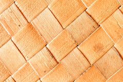 Wicker woven pattern background Stock Images