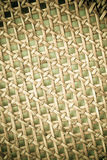 Wicker woven pattern for background or texture Royalty Free Stock Image