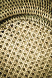 Wicker woven pattern for background or texture Royalty Free Stock Photo