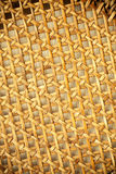 Wicker woven pattern for background or texture Stock Image