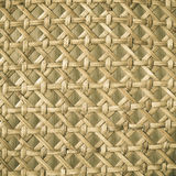 Wicker woven pattern for background or texture Royalty Free Stock Photos