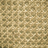 Wicker woven pattern for background or texture Royalty Free Stock Photography
