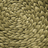 Wicker woven pattern for background or texture Stock Photography