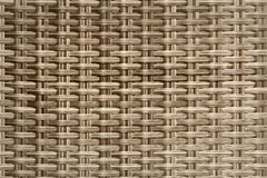 Wicker woven rattan pattern Royalty Free Stock Photography