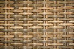 Wicker woven rattan pattern Stock Photography