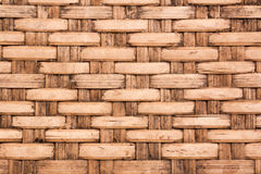 Wicker woven rattan pattern Stock Image