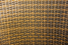 Wicker woven rattan pattern. For use as background Stock Photography