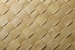 Wicker Woven Texture. Close up wicker woven texture made from vegetable fibers royalty free stock photo