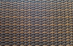 Wicker woven texture for background Royalty Free Stock Photos