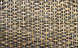 Wicker woven texture or background Stock Photo