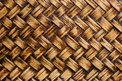 Wicker woven texture background of chair Stock Photography